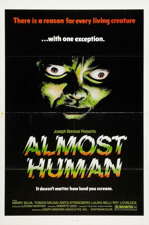 """Almost Human (1974) aka """"Milano Odia: La Polizia Non Può Sparare"""""""