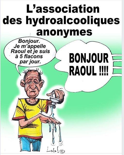Bonjour Raoul Accroc Aux Gel Hydroalcooliques En 2020