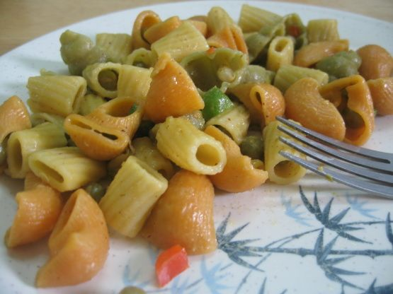 Itsy-Bitsy Teeny-Weeny Colored Polka-Dot Rotini Recipe - Genius Kitchen