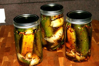 MMMGOBLUBBQ: Grilled Sweet and SPICY Pickles | CANNING & PRESERVING ...