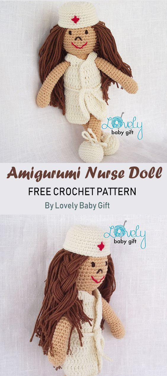 Nurse Jazzy | Patron crochet, Doll patterns free, Crochet patterns | 1267x564