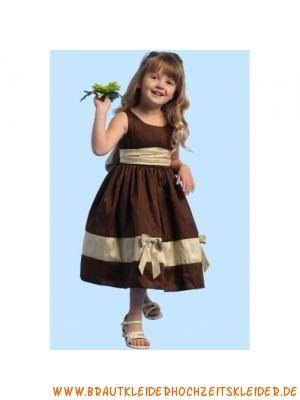 Prinzessin Imperium U-Ausschnitt Liebes Blumenkindkleid aus Satin Wadenlang
