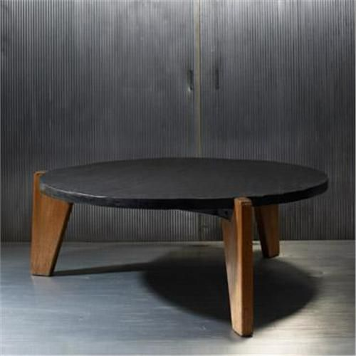 Jean Prouvé; Oak And Slate Coffee Table, 1944. | TABLED | Pinterest | Slate,  Coffee And Tables