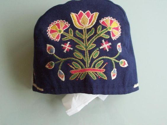 VINTAGE AUTHENTIC NORWEGIAN BUNAD HAT LUE OPPLAND HAND EMBROIDERED FROM NORWAY in Clothing, Shoes & Accessories, Cultural & Ethnic Clothing, Other Cultural Clothing | eBay