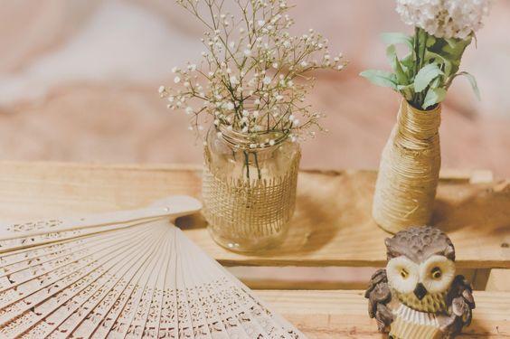 Chá de lingerie DIY com cores pasteis feito pela família do noivo!