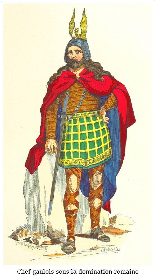 Chef Gaulois Sous La Domination Romaine Costume Gaulois Gaulois Costumes Romains