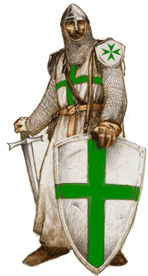 A legend surrounding King Baldwin IV is that during his coronation in Jerusalem, an eagle dropped onto his head a gold ring with sinople (green) cross embedded. The green cross and color green have been traditionally associated with the Order of Saint Lazarus, and this has been so at least throughout the second millennia A.D.: