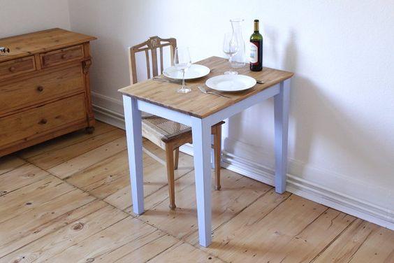 Frankfurter Tisch - Esstisch klein Küche Pinterest - esstisch rund losung platzmangel