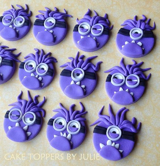 Evil minion toppers