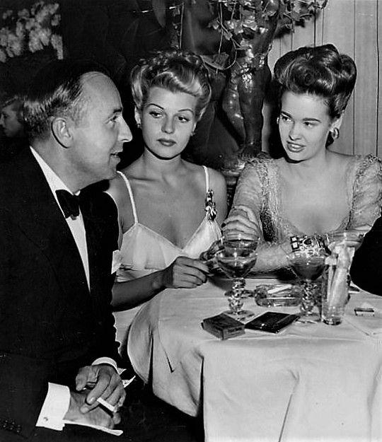 It's Rita! with first husband Edward Judson & Gloria Vanderbilt