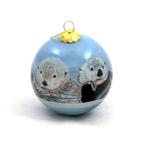Purchase Unique Items That Support Ocean Wise The Vancouver Aquarium And Th Painted Christmas Ornaments Christmas Decorations Ornaments Unique Items Products