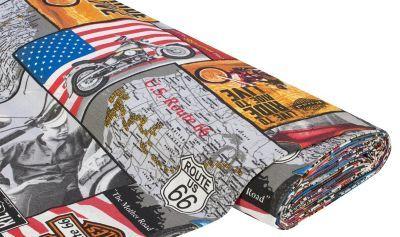 """Dekostoff """"America Route 66"""" € 9,50"""