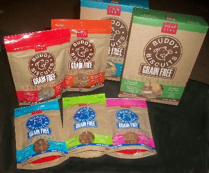 Grain Free Buddy Biscuits for Cats & Dogs by Cloud Star