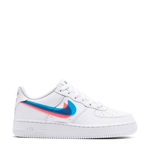 Air Force 1 Lv8 Sneakers Wit Met Afbeeldingen Kinderschoenen Nike Sneakers Nike Schoenen