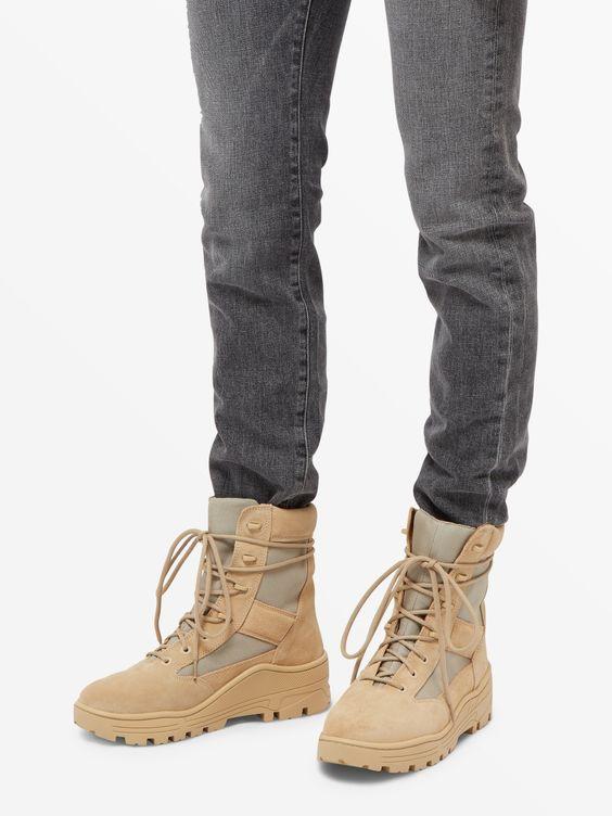 Yeezy Season 4 Sand Combat Boots Image