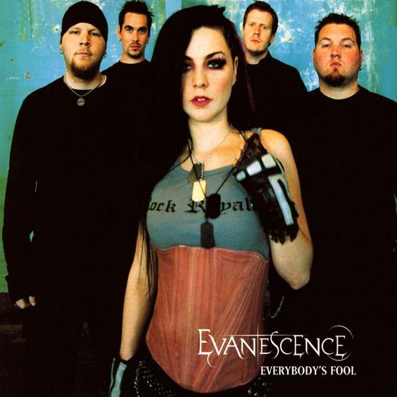 Evanescence – Everybody's Fool (single cover art)