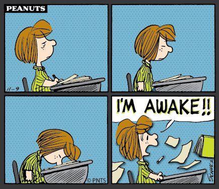 Afternoon feeling... :) #Peanuts #Sleepy