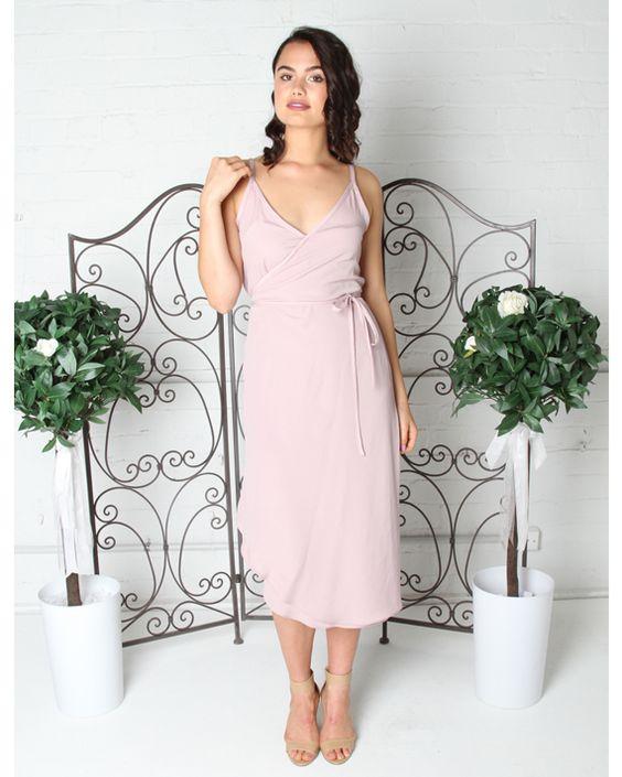 Sarah Wrap Dress