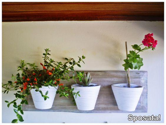Sposata!: Blogagem Coletiva 1 Projeto por Mês (junho)   Jardim vertical feito com madeira reciclada