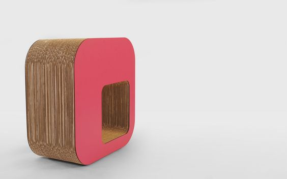 Cardboard furniture by Kartoons ( FLER )