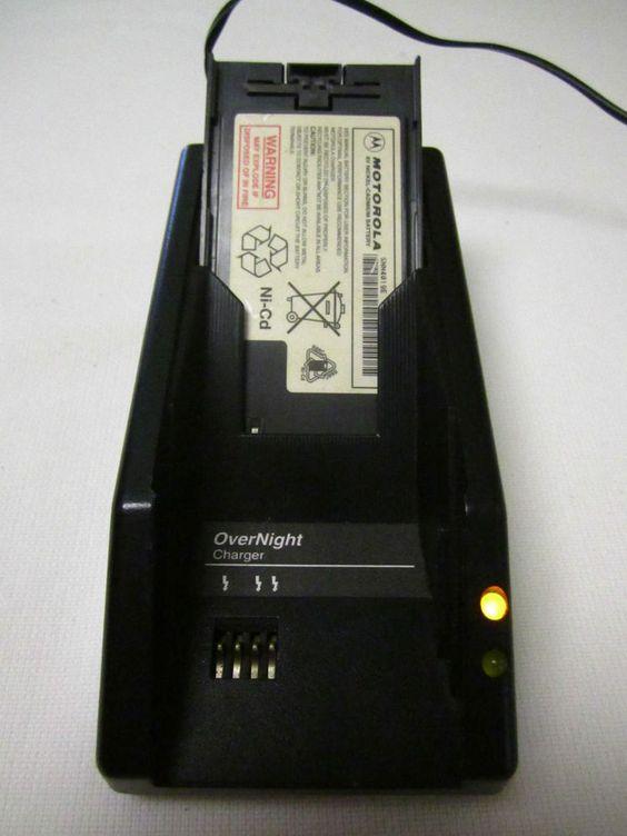 Vintage Motorola Cell Phone Charger SLN50396 Battery SNN4019E Brick Phone #Motorola
