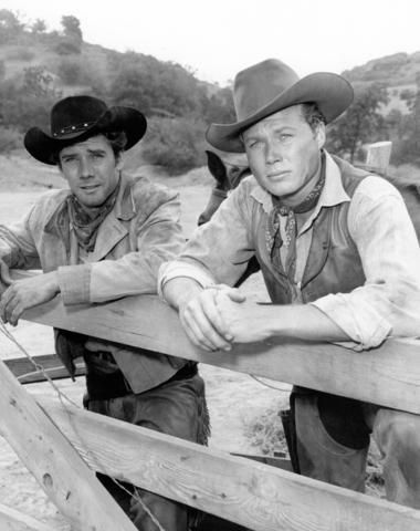 Robert Fuller & John Smith in Laramie: