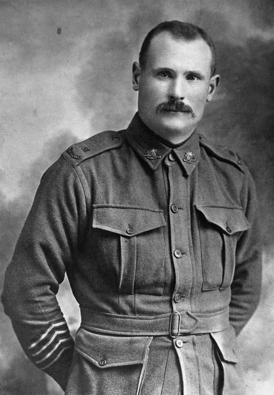 Lance Corporal Robert Slessar killed in action 27 August 1916, Pozieres, Somme, WW1. Unit: 6th Field Company, Australian Engineers, Australian Imperial Force. © IWM ( HU 126538)