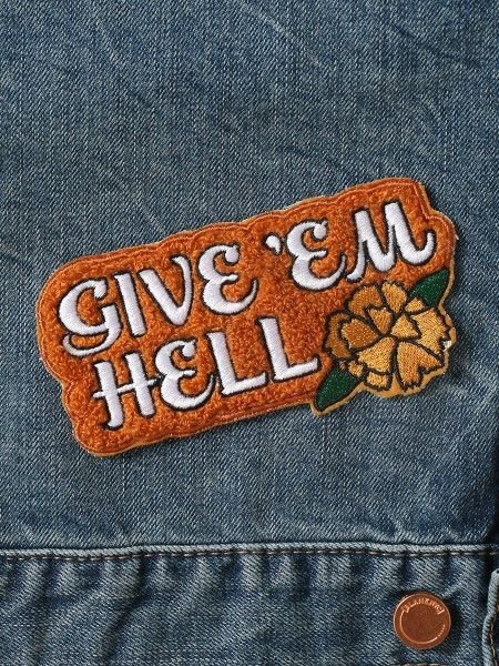 Give 'Em Hell Patch - Gypsy Warrior