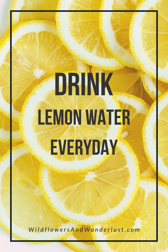 Lemon water benefits 83845
