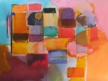 "Saatchi Art Artist Sarah Stokes; Painting, ""the geograpy of human language"" #art"