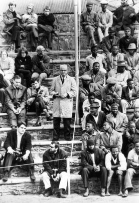 Apartheid in South Africa saved by a great man Nelson Mandela