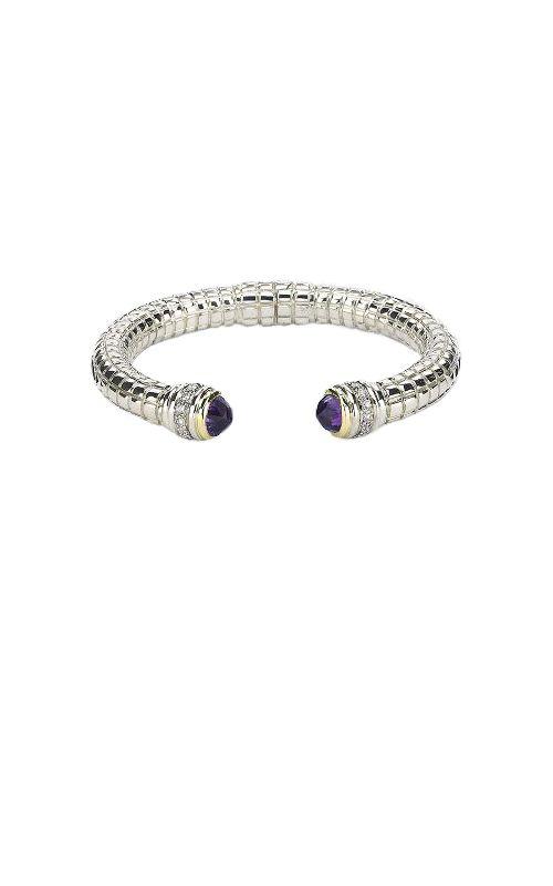 Vault Values - SS/14K WG Diamond & Amethyst Bracelet, 10004250