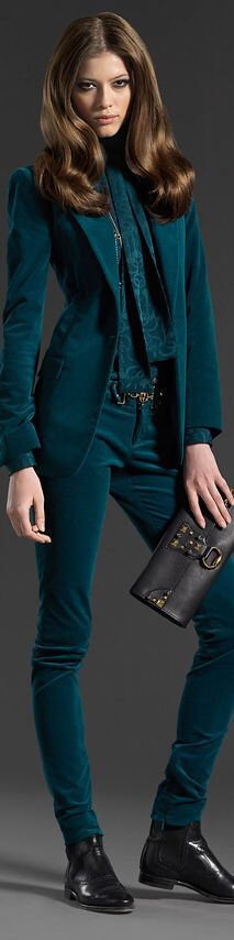 Gucci..... I love the color & I totally wear it but, not all at the same time..... Beautifuls.com Members VIP Fashion Club 40-80% Off Luxury Fashion Brands
