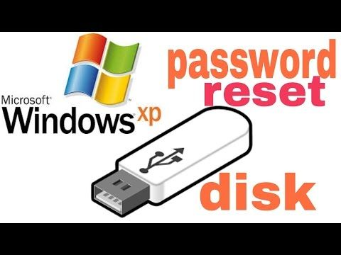 How To Create A Windows Xp Password Reset Disk Youtube