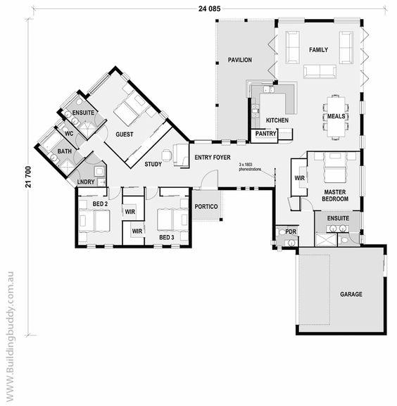Superior Royal Bluebell   Acreage House House Plans By  Http://www.buildingbuddy.com.au/home Designs Main/Acreage House Plans/ | Acreage  House Floorplans | Pinterest ...