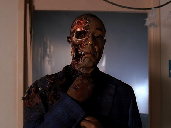 The death of Gus Fring from Breaking Bad