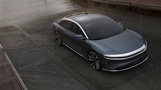 The All Electric Lucidmotors Luxury Car Charges Through Los Angeles Would You Add This Car To Your Collection Via Robb Report Magazine Offic Car Luxury Cars Electric Cars
