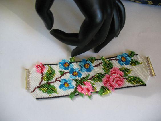 """bracelet..Toho beads bracelet 11 ...,, lena-style """":"""
