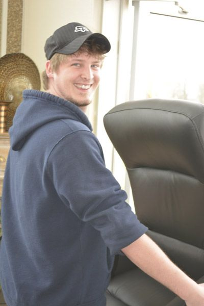 Meet Blake, one of our delivery/moving guys.