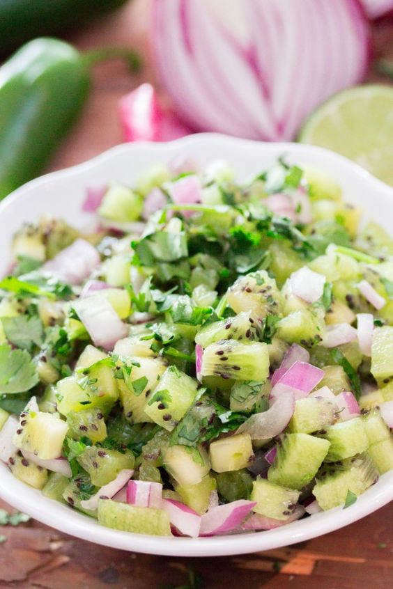 Kiwi, Salsa and Simple on Pinterest