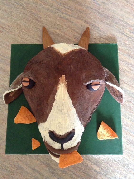 A Dorito eating goat. One of my favourites, i really ...