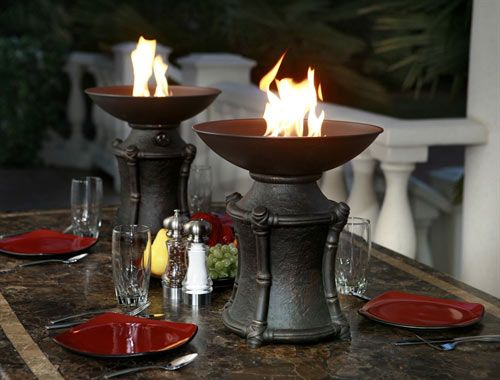 table firepits