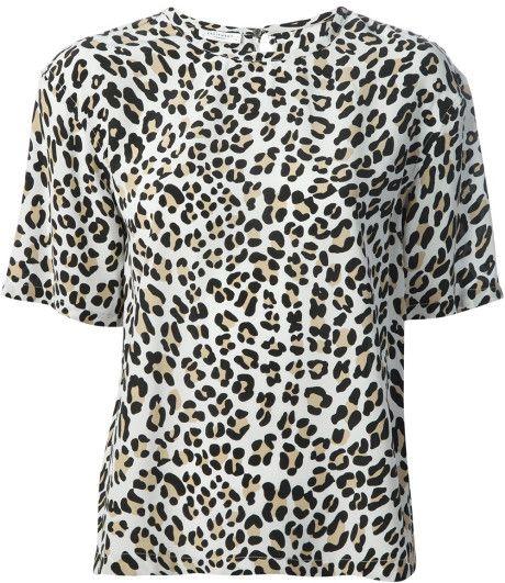 Love this: Logan Leopard Print Tshirt @Lyst