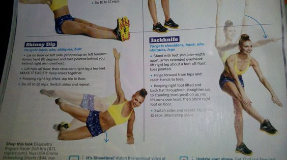 abs workout-3  fitness magazine