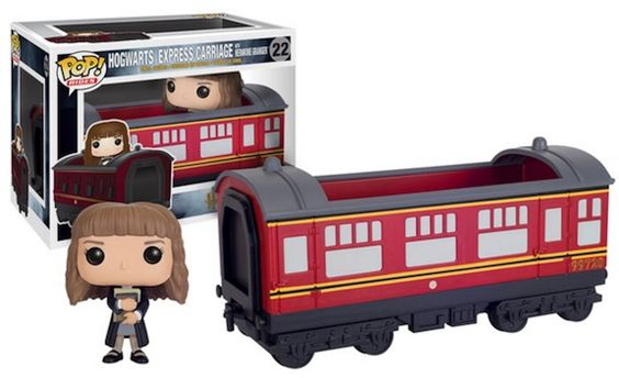 >22 Hogwarts Express Carriage w/ Hermione Granger Funko Pop