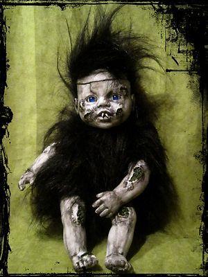 Nimbus  ooak  Horror doll
