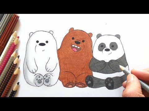 رسم سهل رسم الدببة الثلاثة وهم صغار سهل تعليم الرسم رسومات بالرصاص للاطفال Easy Drawings Youtube Art Character Fictional Characters