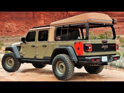 Video 2019 Jeep Wayout Awesome Trail Machine Jeep Wayout Trail Offroad Newcar Video Jeep Jeep Concept Jeep Gladiator