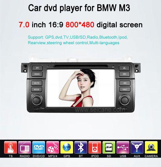 In-Dash Auto DVD Gps navigation Stereo für BMW M3 mit Radio TV Bluetooth Ipod