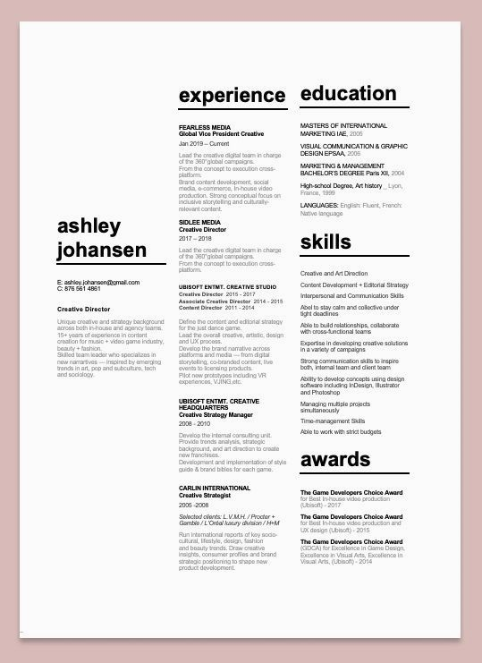 Resume Template With Headshot Photo Cover Letter 1 Page Word Resume Design Diy Cv Template Cv Creatif Exemple Cv Mise En Page Cv